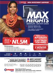 Mixed   Use Land Land for sale Abakaliki Ebonyi