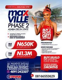 Serviced Residential Land Land for sale Asaba Delta