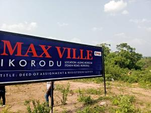 Serviced Residential Land Land for sale Ikorodu Lagos