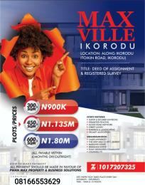 Serviced Residential Land Land for sale - Ikorodu Lagos
