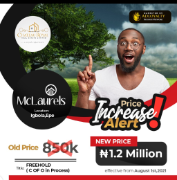 Residential Land for sale Igbola Promo Ends In August Epe Lagos
