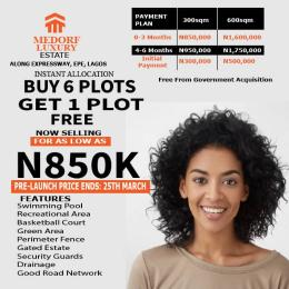 Residential Land Land for sale Epe junction Epe Road Epe Lagos