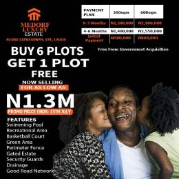 Residential Land for sale Along Lekki Epe Road Epe Road Epe Lagos
