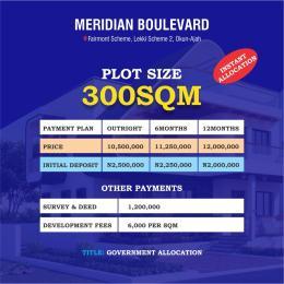 Mixed   Use Land Land for sale Lekki Scheme 2 Abraham Adesanya, Okun Ajah Abraham adesanya estate Ajah Lagos