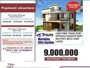 Residential Land for sale Inclusive All Charges Free Trade Zone Ibeju-Lekki Lagos