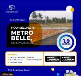 Residential Land for sale Alaase, 4 Mins Drive From The Train Terminal Moniya Ibadan Oyo