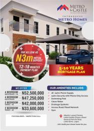3 bedroom Detached Duplex House for sale Along Lekki Gardens Phase 4 Road, By General Paint Bus Stop, Before Lagos Business School, Lekki-Epe Expressway, Ajah Abraham adesanya estate Ajah Lagos