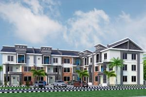 5 bedroom Terraced Duplex House for sale By ICC junction close to kaura hotel by Games village  Gaduwa Abuja