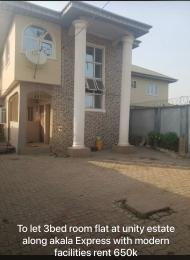 3 bedroom Flat / Apartment for rent Unity street Akala Express Ibadan Oyo