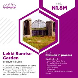 Residential Land Land for sale Lepia Town Ise town Ibeju-Lekki Lagos