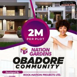 Residential Land for sale Obadore, 3 Mins Drive From Igando Akesan Alimosho Lagos
