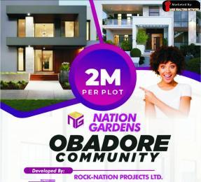Land for sale Nations Garden Rafatu Adam Street, Obadore Igando Ikotun/Igando Lagos