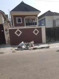 Detached Duplex House for sale Estate college road  Ogba Lagos