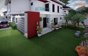 5 bedroom Detached Duplex House for sale Inside Green Park Estate Abijo GRA Abijo Ajah Lagos