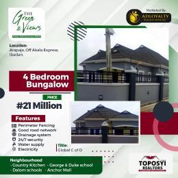 4 bedroom Detached Duplex for sale Arapaja Akala Express Ibadan Oyo