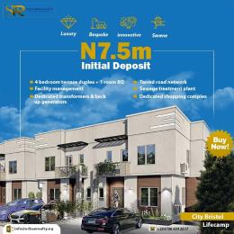 5 bedroom Terraced Duplex House for sale Brains and Hammers city estate, Lifecamp  Life Camp Abuja