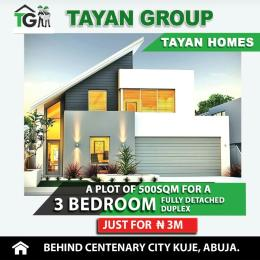 3 bedroom Residential Land Land for sale Behind Centenary city Kuje Abuja