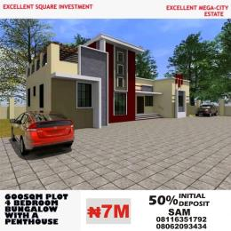 4 bedroom Residential Land Land for sale Behind Dunamis  Headquarter Church close to River Park Estate Lugbe Abuja