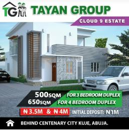 4 bedroom Residential Land Land for sale Behind centenary  Kuje Abuja