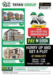 4 bedroom Residential Land Land for sale Idu Industrial layout Idu Abuja