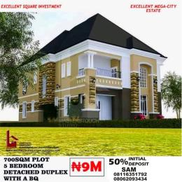 5 bedroom Residential Land Land for sale Behind Dynamos Headquarter Church Close To River Park Lugbe Abuja