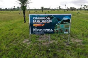 Land for sale Area U Owerri Imo