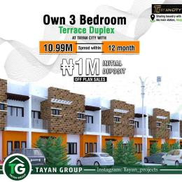 3 bedroom Terraced Duplex House for sale Tayan City Idu Abuja