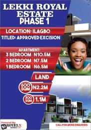 1 bedroom mini flat  Terraced Duplex House for sale Ilagbo Ibeju-Lekki Lagos