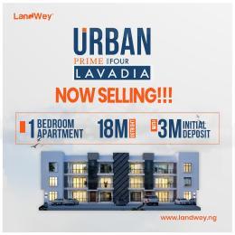 1 bedroom mini flat  Blocks of Flats House for sale Ogombo Road, Lavadia [urban Prime Four Estate] Abraham adesanya estate Ajah Lagos