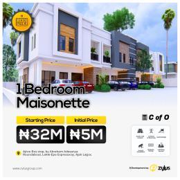 1 bedroom Massionette for sale Lekki Pride Estate Ajiwe Bus Stop, By Abraham Adesanya Roundabout, Lekki Epe Expressway. Ajah Lagos