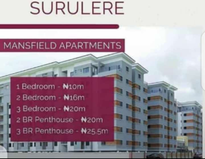 2 bedroom House for sale .. Surulere Lagos