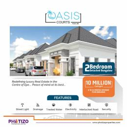 2 bedroom Detached Bungalow House for sale 2 bedroom Detached Bungalow inside Oasis Court  poka Epe Epe Road Epe Lagos