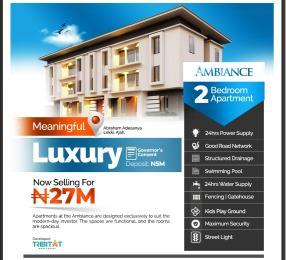 Studio Apartment Flat / Apartment for sale Atlantic Layout Estate Ajiwe  Abraham adesanya estate Ajah Lagos