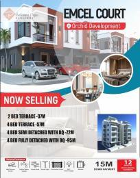 2 bedroom Terraced Duplex for sale Emcel Court At Orchid Road, Opposite Prime Mall chevron Lekki Lagos