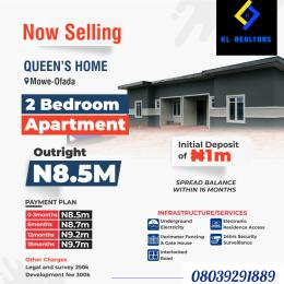 2 bedroom Semi Detached Bungalow House for sale Mowe Ofada Arepo Arepo Ogun