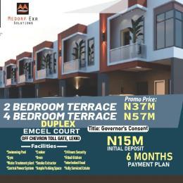 2 bedroom Terraced Duplex for sale Emcel Court, Orchid Area By Chevron chevron Lekki Lagos