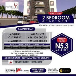 Flat / Apartment for sale 34, bolaji banwa street, aguda surulere, Lagos state Aguda Surulere Lagos