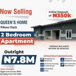 2 bedroom Flat / Apartment for sale Mowe Ofada Isheri North Ojodu Lagos