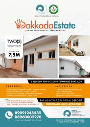 2 bedroom Semi Detached Bungalow House for sale Ibiaku Ikot Ukpong, Ibiono off Idoro road, Uyo. Uyo Akwa Ibom