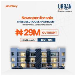 3 bedroom Flat / Apartment for sale Abraham Adesunya Ajah Lagos