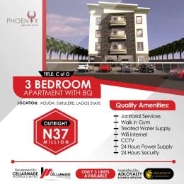 3 bedroom Shared Apartment Flat / Apartment for sale 34,Bolani Banwo street, Aguda, surulere.  Aguda Surulere Lagos