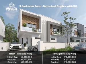 Semi Detached Duplex for sale Corona School Abijo Ajah Lagos