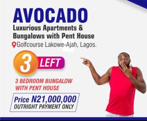 3 bedroom Detached Bungalow House for sale Lakowe Ibeju-Lekki Lagos