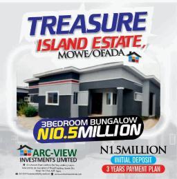 3 bedroom Detached Bungalow for sale Treasure Island Estate Mowe Ofada Ofada Obafemi Owode Ogun