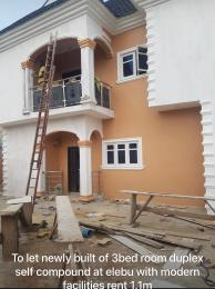 3 bedroom Detached Duplex House for rent Elebu Akala Express Ibadan Oyo