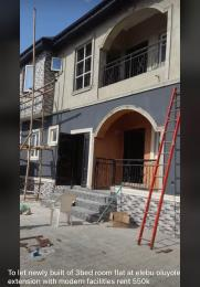 3 bedroom Flat / Apartment for rent  Unity Estate,Orita Merin, Elebu Akala Express Ibadan Oyo