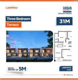 3 bedroom Terraced Duplex House for sale Along Abraham Adesanya  Abraham adesanya estate Ajah Lagos