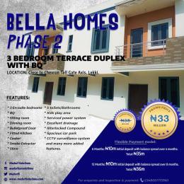 3 bedroom Terraced Duplex House for sale Close To Chevron Toll Gate Axis Lekki Lagos chevron Lekki Lagos