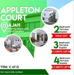 4 bedroom Terraced Duplex for sale Appleton Court By Royal Garden Lekki Epe Express Thomas estate Ajah Lagos