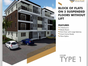 3 bedroom Mini flat Flat / Apartment for sale By vio  Mabushi Abuja